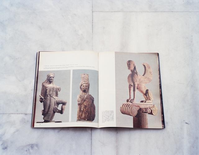 , 'Niké ailée, koré, Sphinx des Naxiens. Les musées grecs – Delphes, Ekdotike Athenon S.A., 1975,' 2018, PARISIAN LAUNDRY