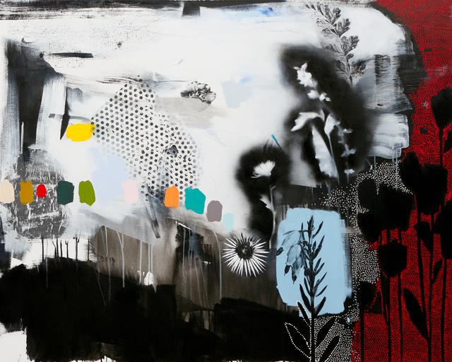 , 'Dreamscape (Red+Blue+Silver),' 2016, Newzones