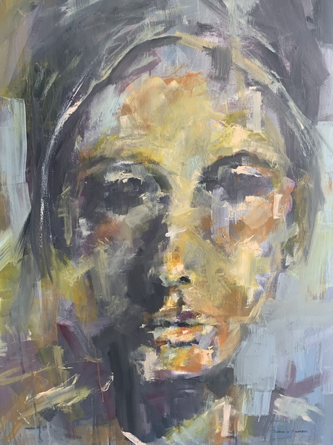 Johan van Vuuren, 'Head Study', 2018, Painting, Oil on Canvas, Axis Art Gallery