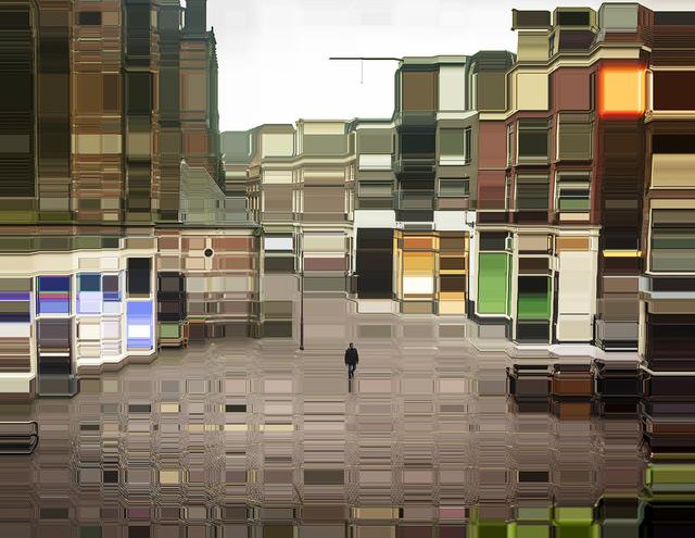 , 'Behind the Royal Palace of Amsterdam,' 2018, Winston Wächter Fine Art
