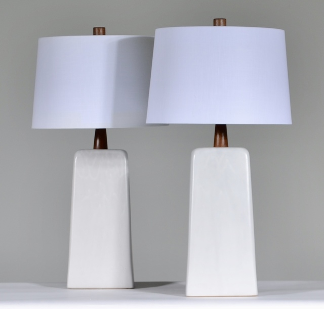 , 'Table Lamps, Pair,' ca. 1960, Christopher West Presents