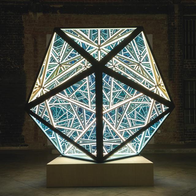 , 'Portal Icosahedron,' 2019, Melissa Morgan Fine Art