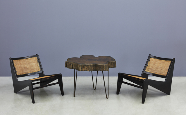 ", '""Tree Trunk"" Coffee Table and ""Kangaroo"" Chairs,' , Kukje Gallery"