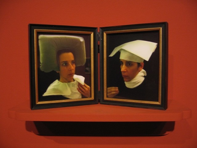 , 'Lavatory Self-Portrait in the Flemish Style #18-19,' 2011, Kopeikin Gallery