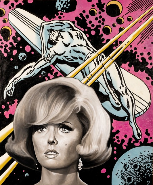 , 'Tina and the Silver Surfer,' 2018, Adelson Cavalier Galleries