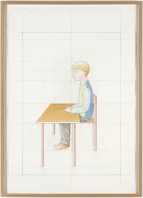 , 'An Attempt at Reconstructing my Elementary School Class, Based on my Memory (20),' 2012, Galleri Nicolai Wallner