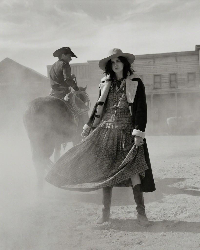 Zlata Mangafic, Marie-Claire Magazine, Santa Fe, New Mexico