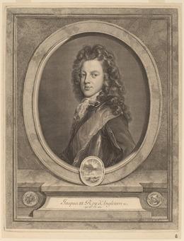 Gerard Edelinck after Francois de Troy, 'James III, Prince of Wales', Print, Engraving, National Gallery of Art, Washington, D.C.