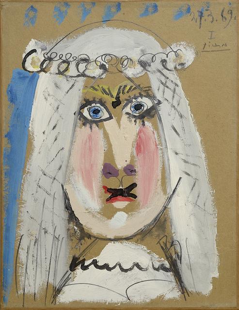 , 'La Marié,' 1969, Galleria Tega