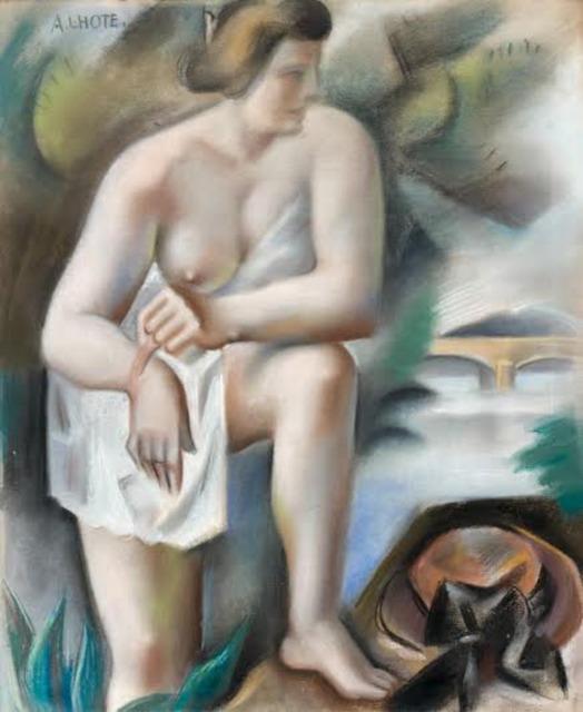 André Lhote, 'Nu au bain', 1924, Fairhead Fine Art Limited