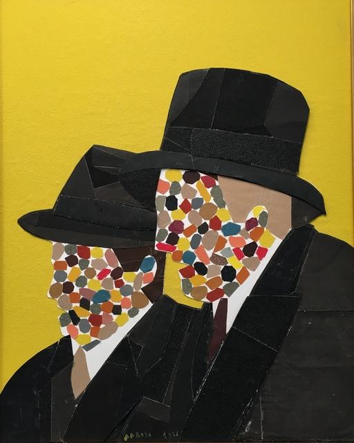 , 'Parmi les peintres,' 1976, Álvaro Alcázar