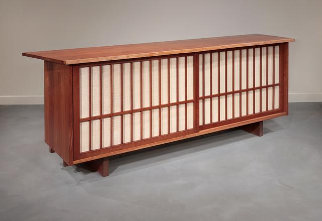 """, 'Sliding Door Cabinet with """"Radio"""" doors,' 1962, Moderne Gallery"""