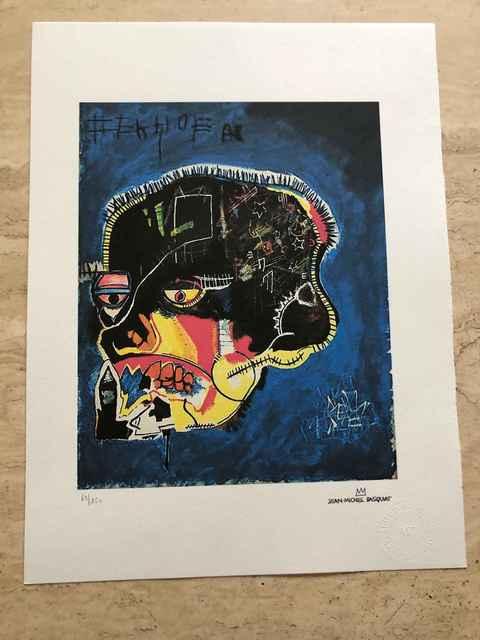 Jean-Michel Basquiat, 'Untitled (Skull)', 1981, Print, Lithograph, Leviton Fine Art