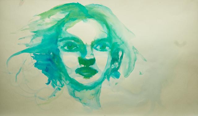 Alexandra Bregman, 'Woman's Face in Green', 2018, MvVO ART