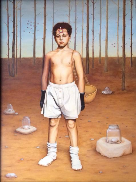 , 'Delivery Boy,' 1998-2015, Andra Norris Gallery