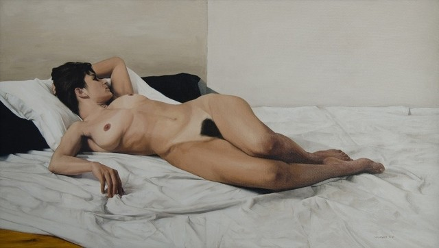 David Warren, 'Reclining Nude', 2005, Charles Nodrum Gallery