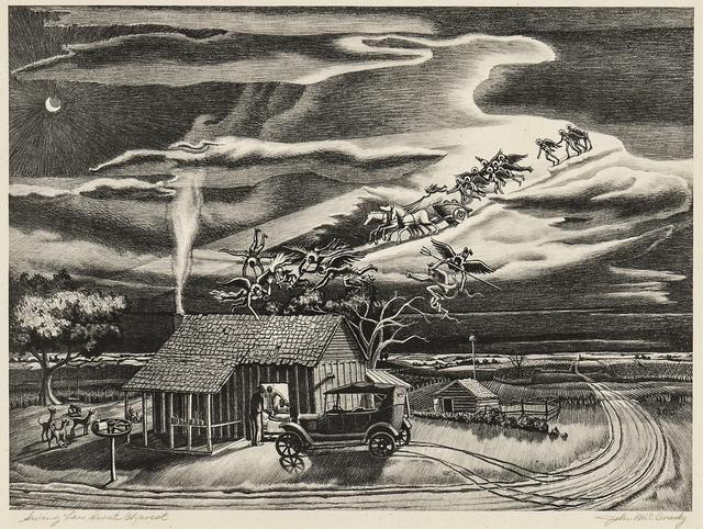 John McCrady, 'Swing Low, Sweet Chariot', 1941, Skinner