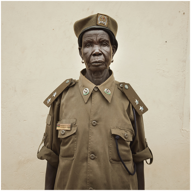 , 'Becoming South Sudan Chapter I (Portraits): Chief,' 2011, The Ravestijn Gallery