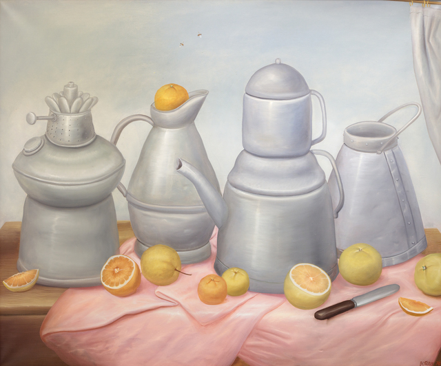 , 'Still Life/Nature Morte Aux Etains,' 1974, Heather James Fine Art