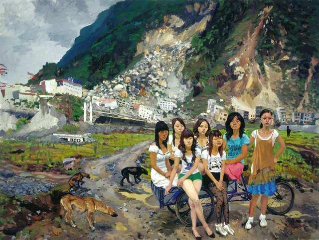 , 'Out of Beichuan,' 2010, Faurschou Foundation