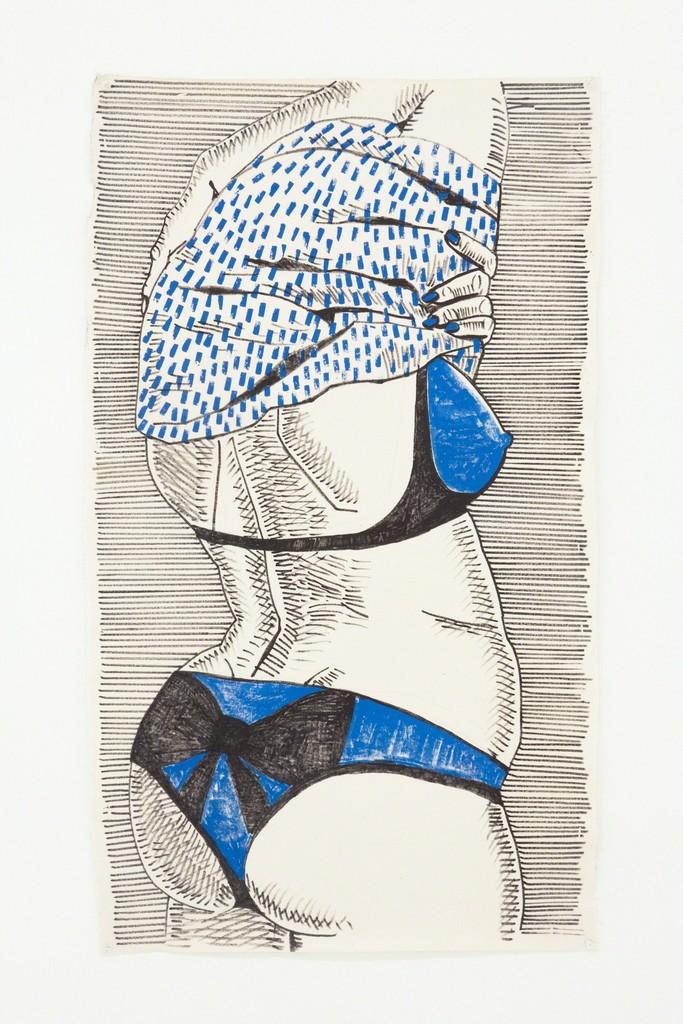 Ella Kruglyanskaya, 'Untitled (Disturbing Bather),' 2010, Nina Johnson