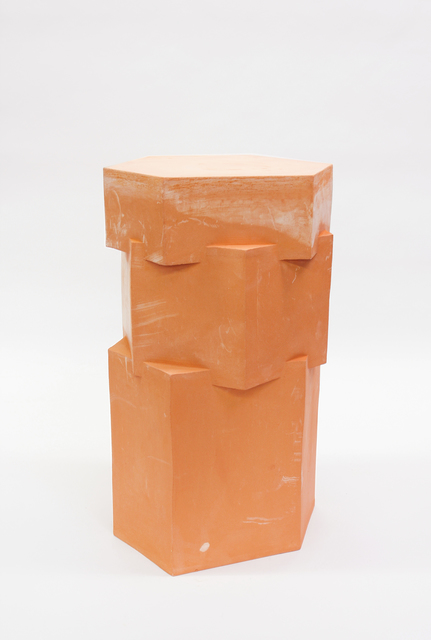 B. Zippy, 'Raw Terracotta Tall Hex Side Table', 2019, Egg Collective