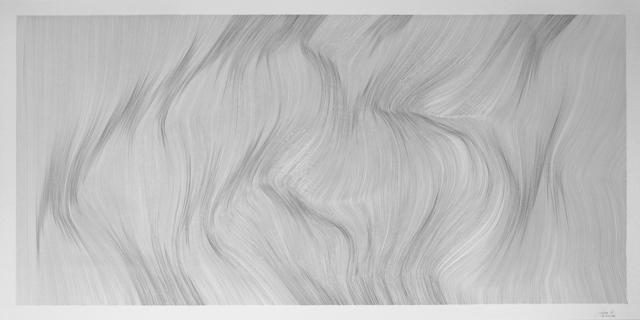 John Franzen, 'Each Line One breath ', 2018, Yoko Uhoda Gallery