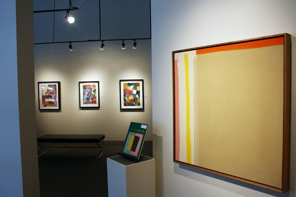 Artists pictured here (right to left): David NEWKIRK, Kenneth LOCHHEAD