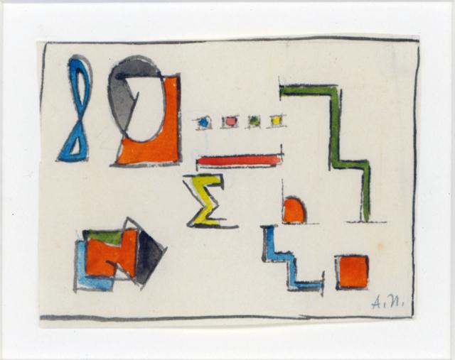 , 'Composition,' 1936, Cecilia de Torres Ltd.