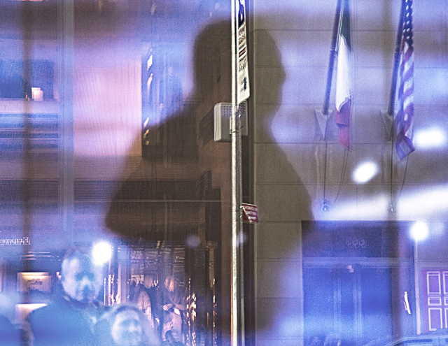, 'Blue Reflections Fifth Avenue,' , Soho Photo Gallery