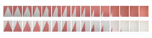 , 'Estudio sobre triángulo (positvo-negativo),' 2017, MARSO