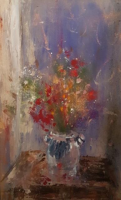 , 'Flowers in a Jar,' 2017, DSC Gallery