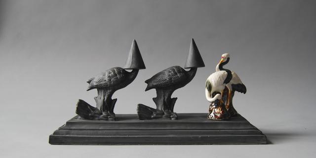 , 'Wunderkammer II 9, Storks,' 2017, Cynthia Corbett Gallery