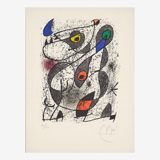 Joan Miró, 'Miro à l'encre', 1972, Rago