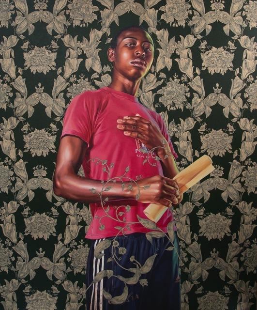 , 'Portrait of Dacdjo Ndie Joseph,' 2015, Berggruen Gallery