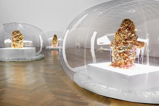 , 'Installation view of 7,070,430K of Digital Spit ,' 2015, Kunsthalle Basel