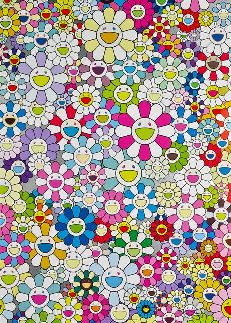 Takashi Murakami, 'An Homage to Yves Klein, Multicolor C', 2012, MSP Modern