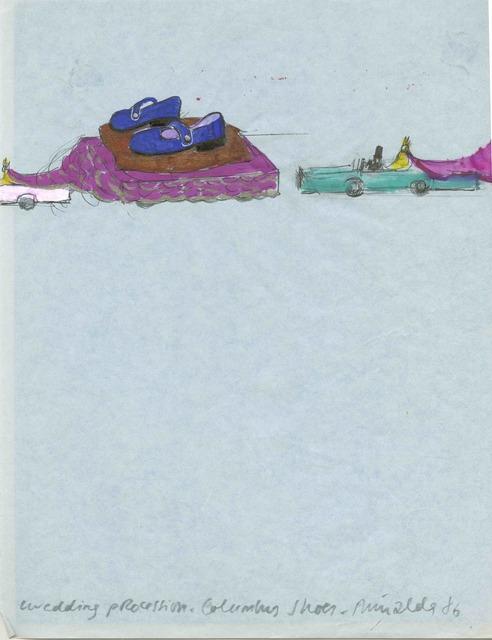 Antoni Miralda, 'Wedding Procession. Columbus Shoes', 1986, Henrique Faria Fine Art