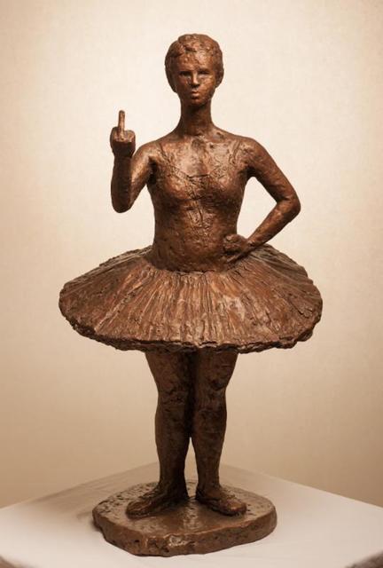 , 'The Fuck You Ballerina,' , RJD Gallery