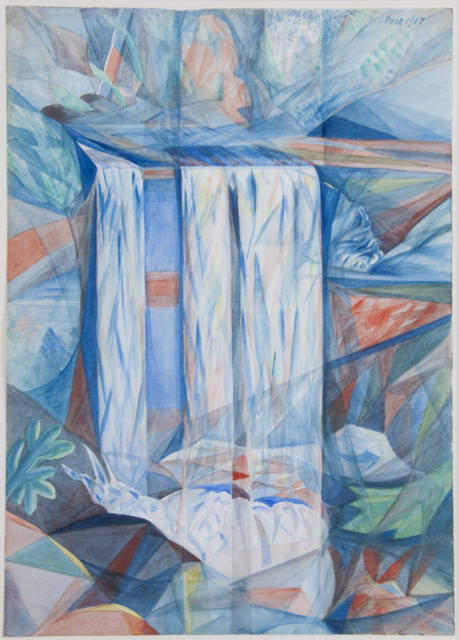 , 'Waterfall,' 1917, Francis M. Naumann Fine Art