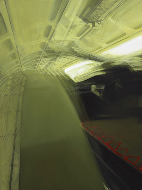 Rosalyn Bodycomb, 'DC Metro IX', 2017, Painting, Oil on panel, Conduit Gallery