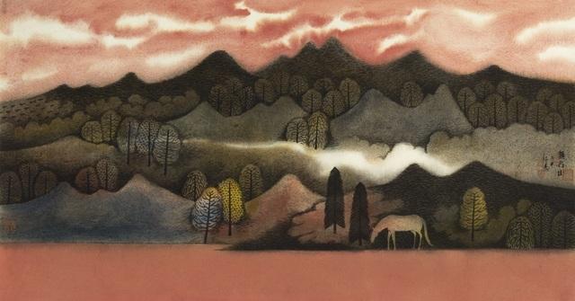 Hong Tao Huang 黄红涛, 'Nameless Hills Series 2 No.181', 2016, White Space Art Asia