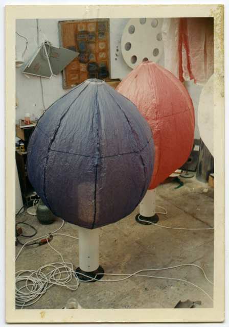 , 'Ken Cox's studio with Balloons,' ca. 1968, East Gallery at Norwich University of the Arts (NUA)