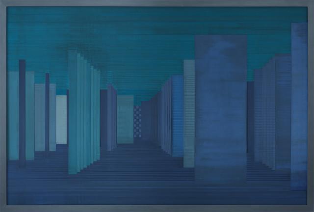 , 'Sintropic Maze - series I A - Blue,' 2016, Zipper Galeria