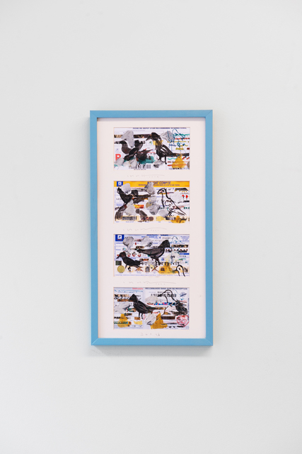 , 'Timbres de la promesse,' 2017, Galerie Liusa Wang