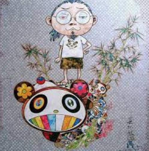 Takashi Murakami, 'I Met a Panda Family', 2013, Print, Der-Horng Art Gallery