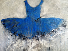 , 'Blue Dress,' 2016, Galleria Ca' d'Oro
