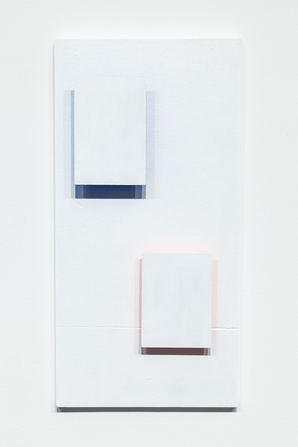 , 'Red & Blue_Two Rectangles,' 2017, Ki Smith Gallery