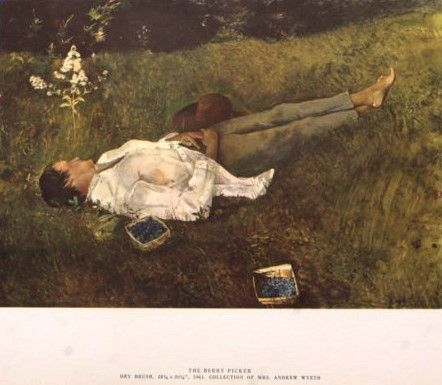 Andrew Wyeth, 'The Berry Picker', The Loft Fine Art