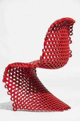 , 'Panton Chair Bolts,' 2013, Museum of Arts and Design